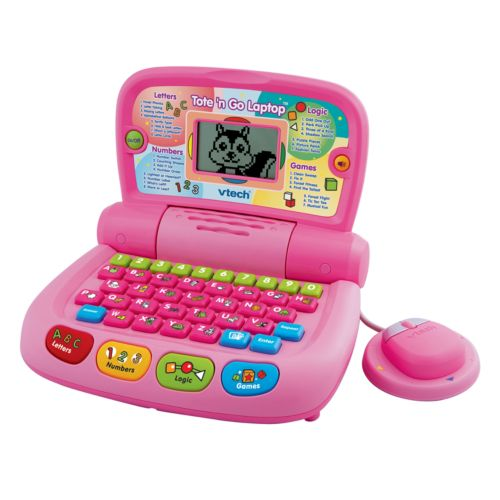 VTech Tote and Go Laptop - Pink