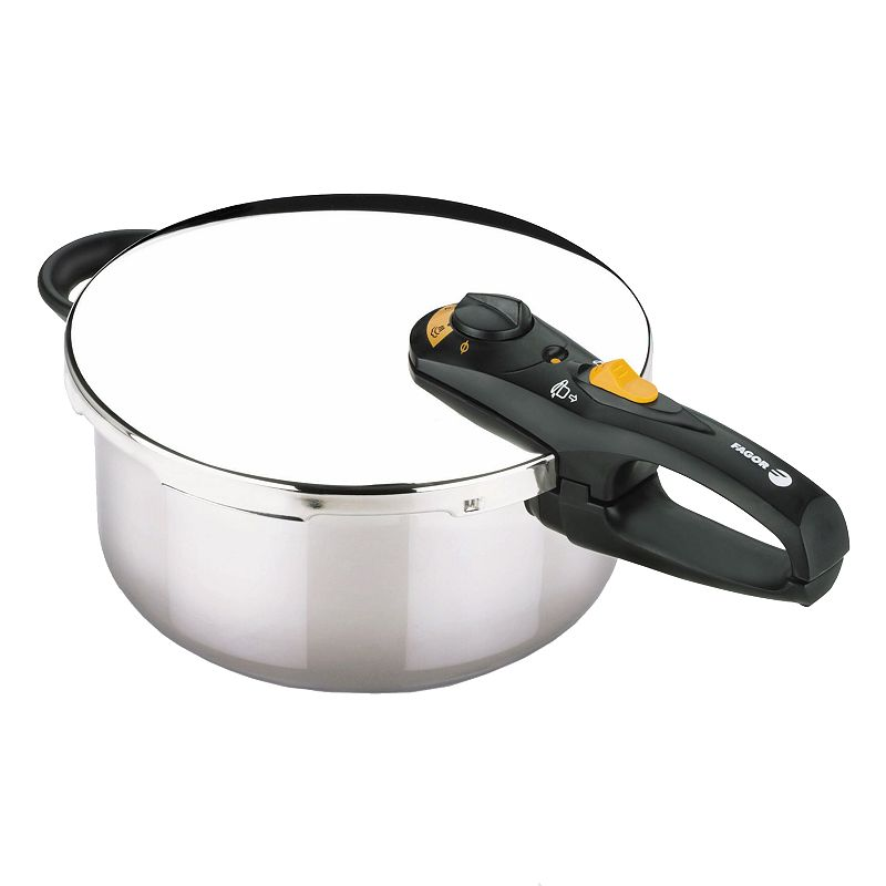 Fagor Duo 4-qt. Stainless Steel Pressure Cooker
