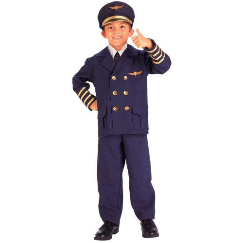 Airline Pilot Costume - Kids
