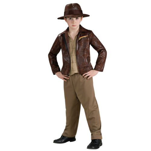Indiana Jones Deluxe Indiana Costume - Kids