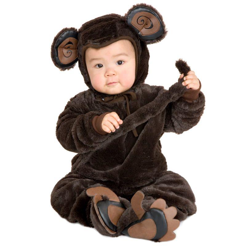 Monkey Costume - Baby (Brown)
