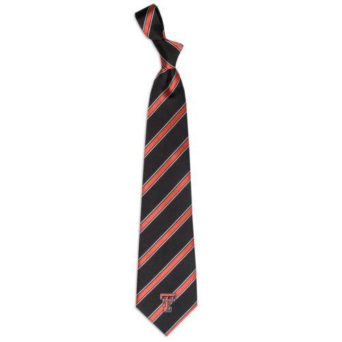 Texas Tech Red Raiders Striped Tie