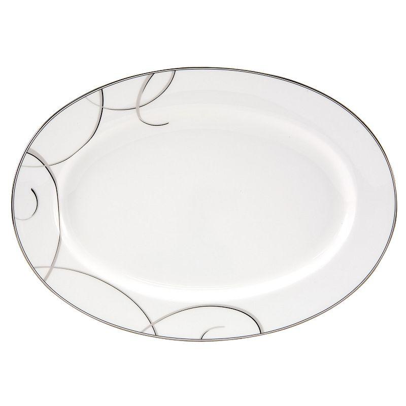 Nikko Elegant Swirl Oval Serving Platter