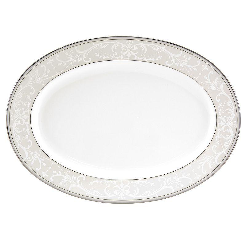 Nikko Pearl Symphony Oval Serving Platter