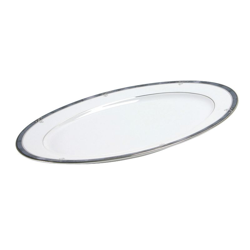 Nikko Moonstone Oval Serving Platter