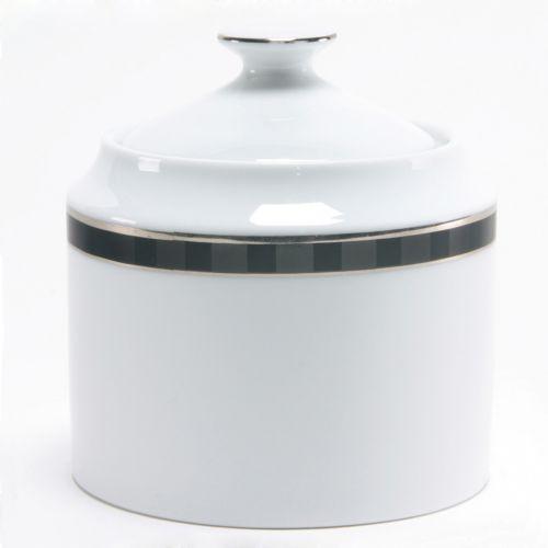 Nikko Black Tie Covered Sugar Bowl
