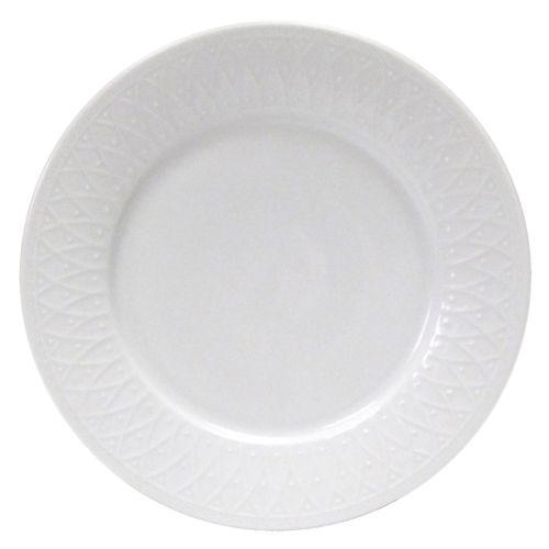 Nikko Blanc Fleur Dinner Plate