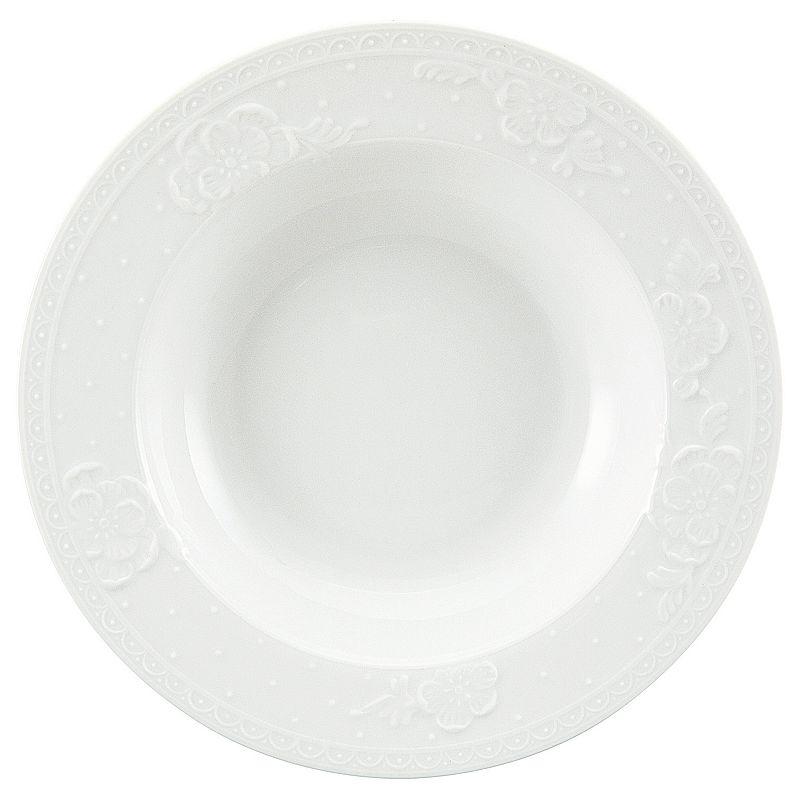 Nikko Blanc Fleur Soup Bowl