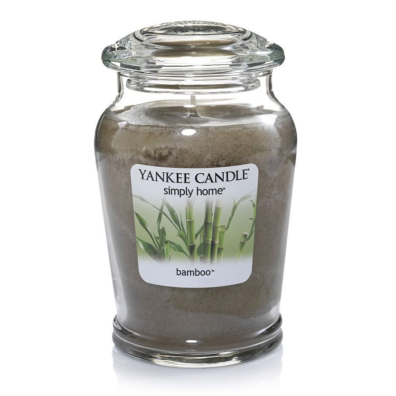 Yankee Candle simply home Bamboo 19-oz. Jar Candle