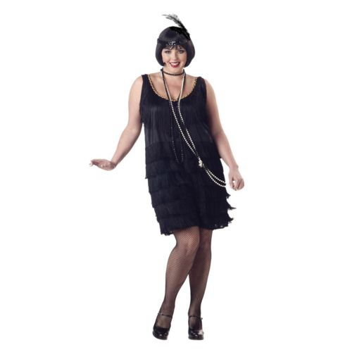 Flapper Costume - Adult Plus