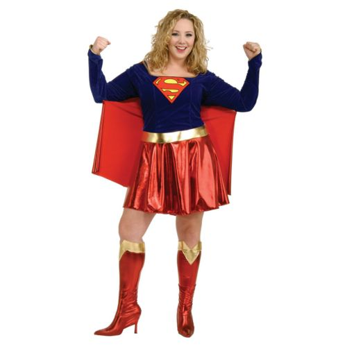 Supergirl Costume - Adult Plus