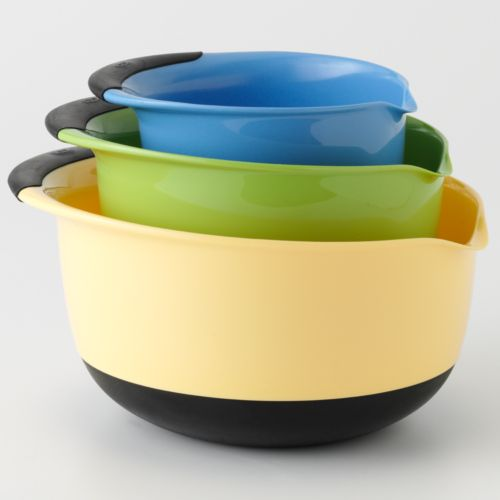 OXO Good Grips 3-pc. Mixing Bowl Set