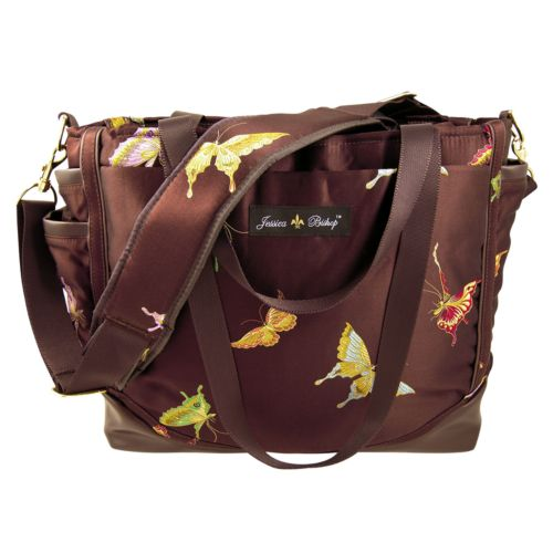 Jessica Bishop Butterfly Personal Diaper Bag