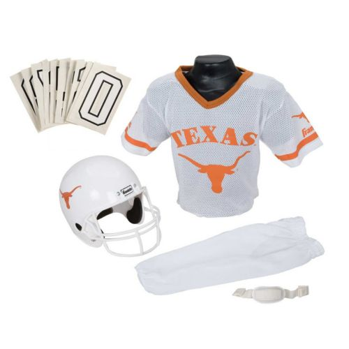 Franklin Texas Longhorns 3-pc. Football Uniform