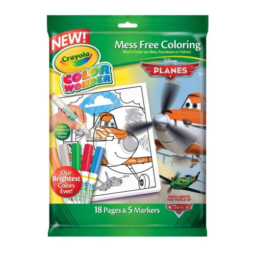 Disney's Planes: Fire & Rescue Color Wonder Markers & Coloring Pad by Crayola