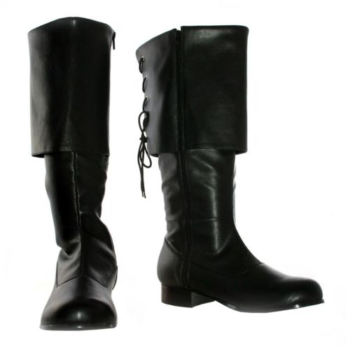 Sparrow Pirate Costume Boots - Adult