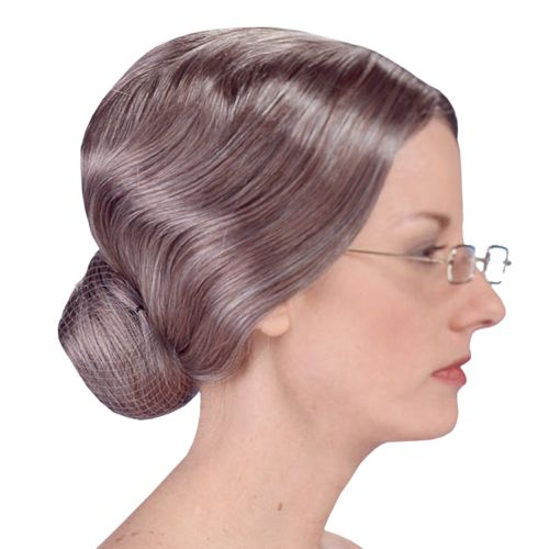 Old Lady Wig - Adult