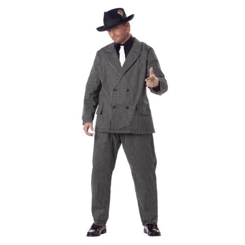 Gangster Costume - Adult Plus