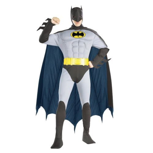 Batman Muscle Costume - Adult