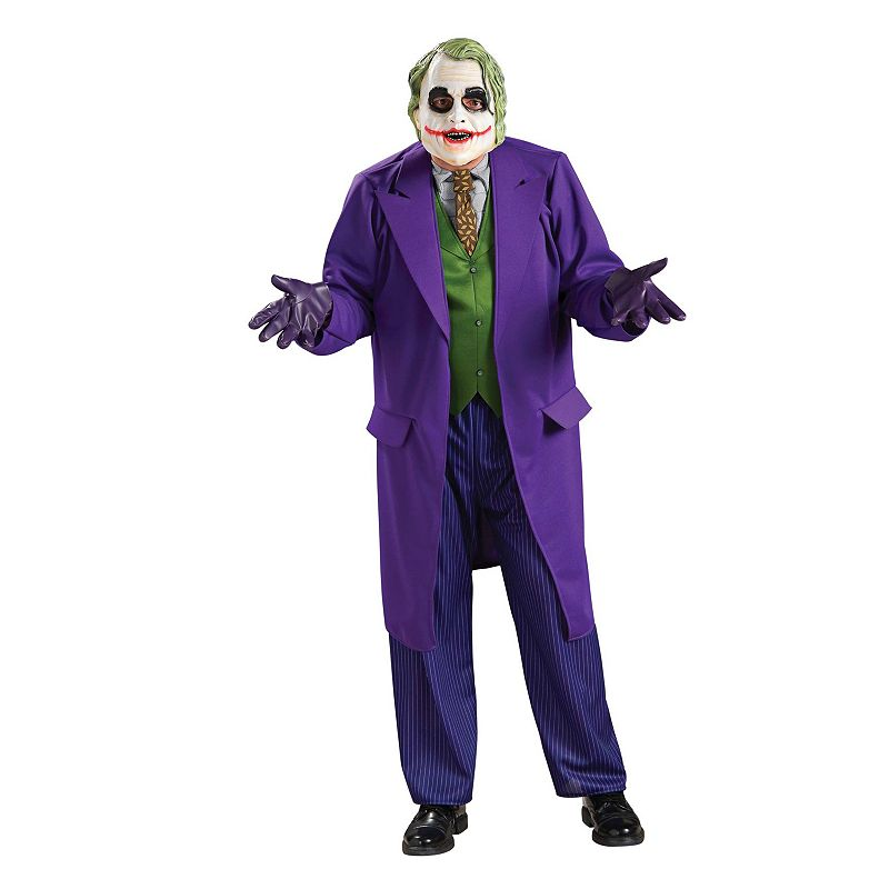 Batman The Dark Knight Joker Deluxe Costume - Adult/Adult Plus