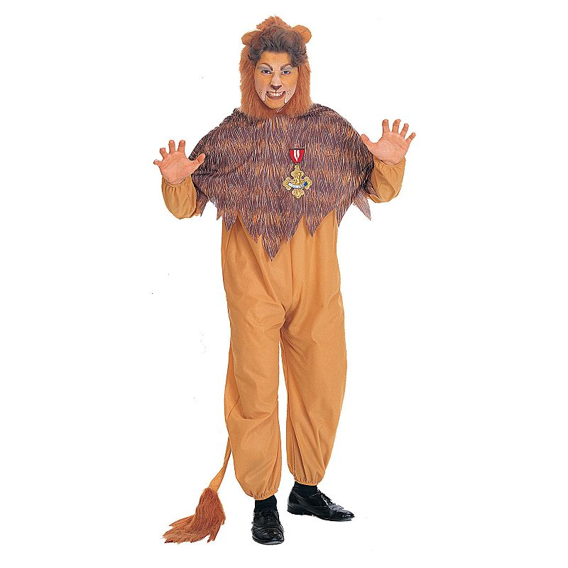 The Wizard of Oz Cowardly Lion Costume - Adult