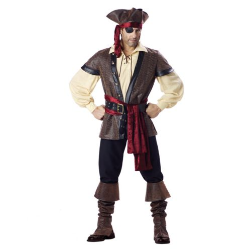 Rustic Pirate Elite Collection Costume - Adult