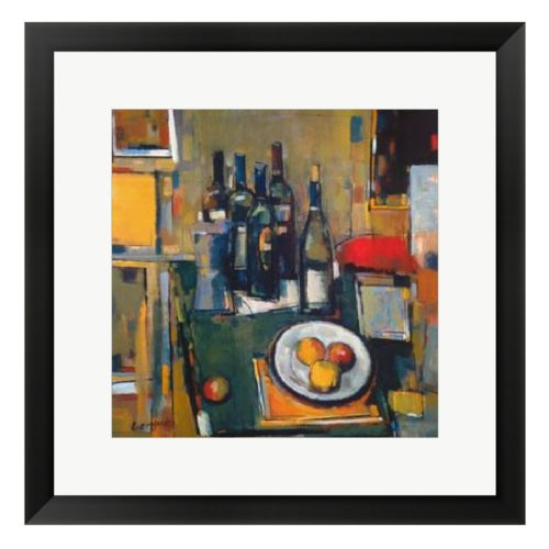 Vin Blanc Framed Wall Art