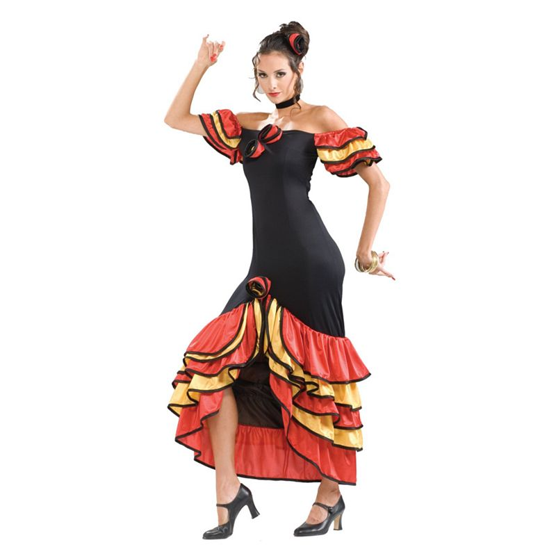 Flamenco Dancer Costume - Adult
