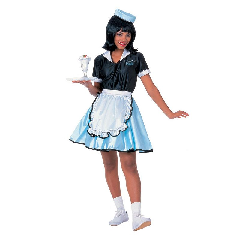 Car Hop Girl Costume - Adult