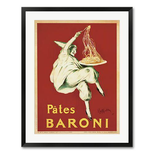 Pates Baroni, 1921 Framed Wall Art