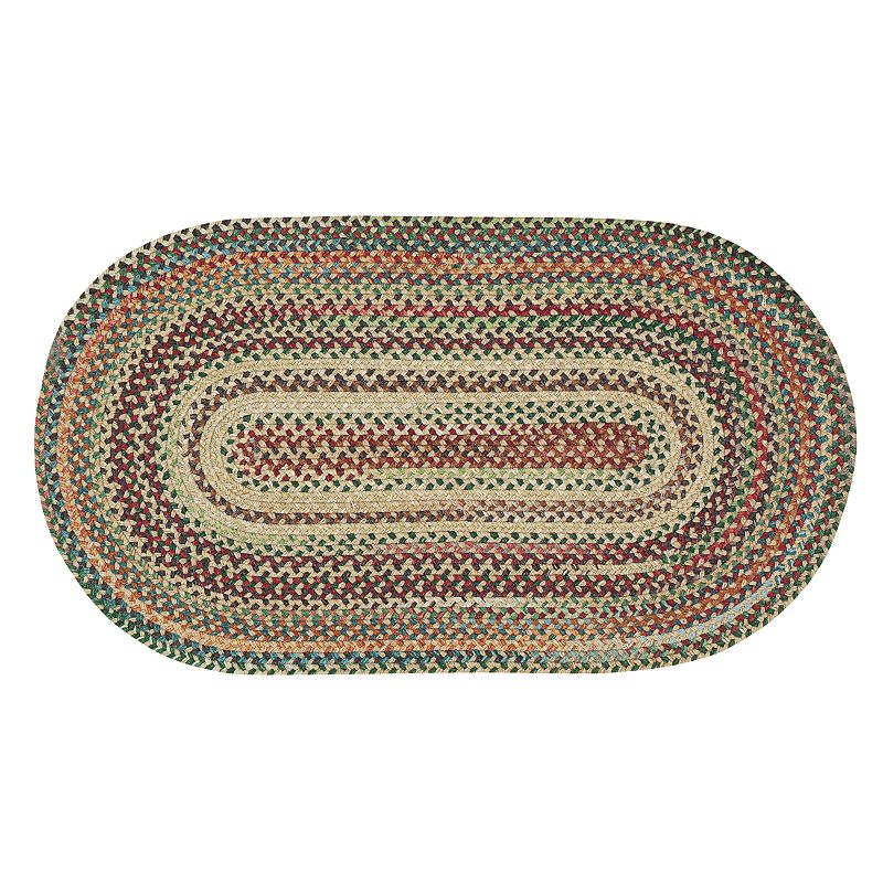 Capel Sherwood Forest Reversible Braided Rug - 4' x 6'