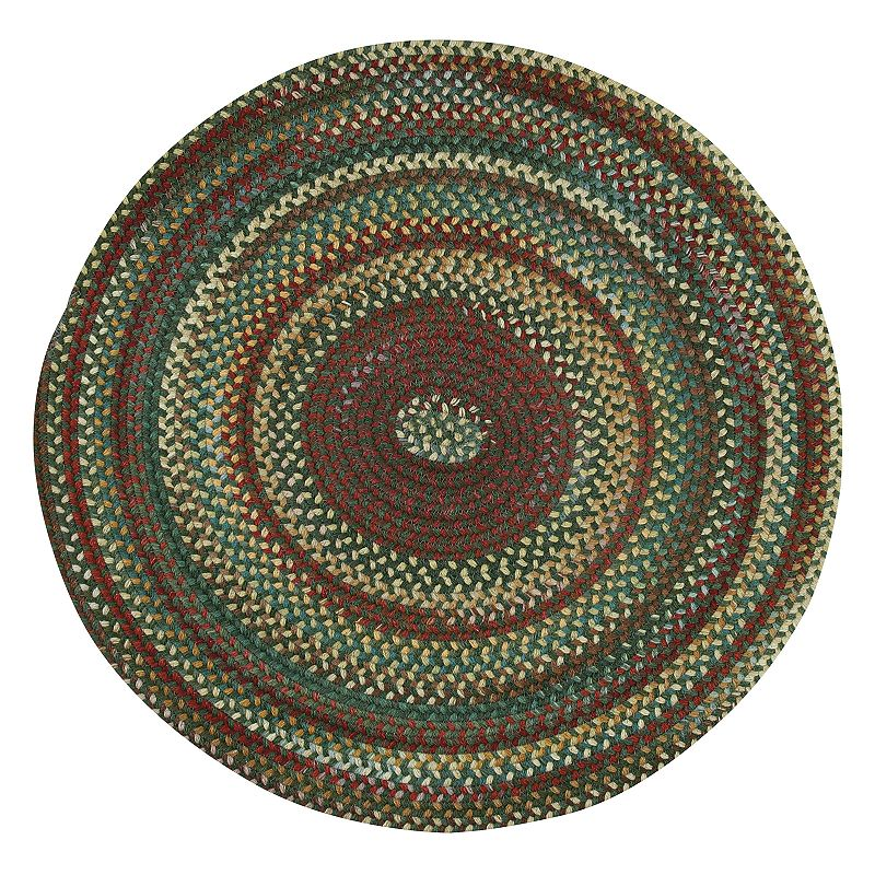 Capel Sherwood Forest Reversible Braided Rug - 7'6'' Round