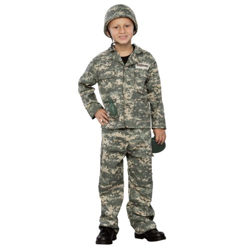 Army Soldier Costume - Kids
