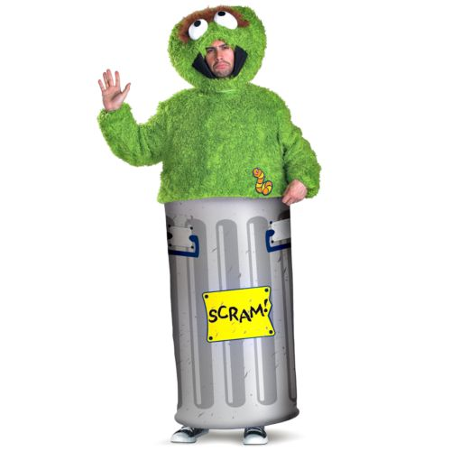 Sesame Street Oscar the Grouch Costume - Teen