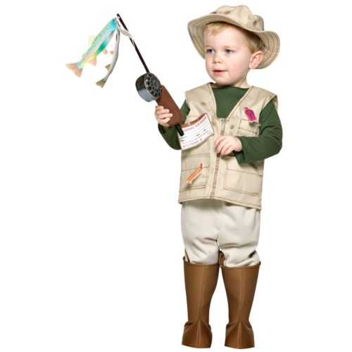 Future Fisherman Costume - Kids