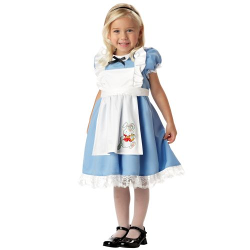 Li'l Alice in Wonderland Costume - Girls 4-6