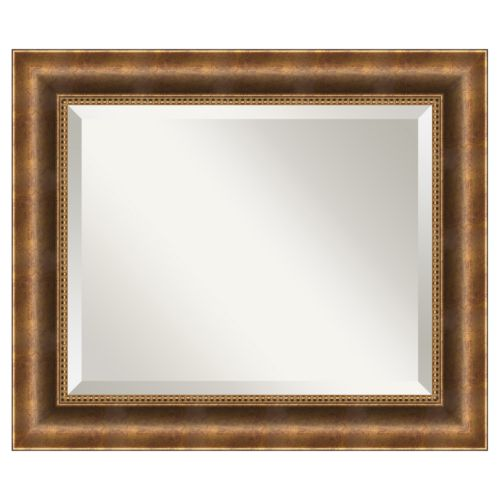 Amanti Art Manhattan 25 1/2 x 21 1/2 Wall Mirror