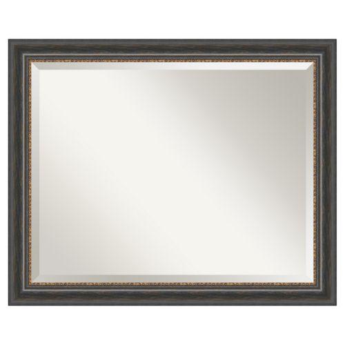 Amanti Art Tuscan Rustic 32 x 26 Wall Mirror