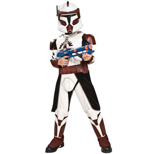 Star Wars Deluxe Clone Commander Fox Costume - Kids