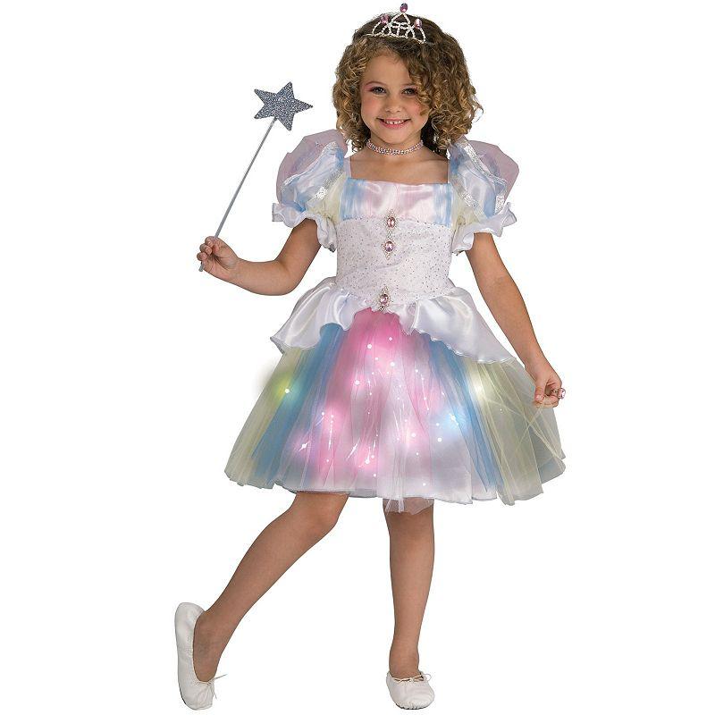 Rainbow Ballerina Costume - Kids