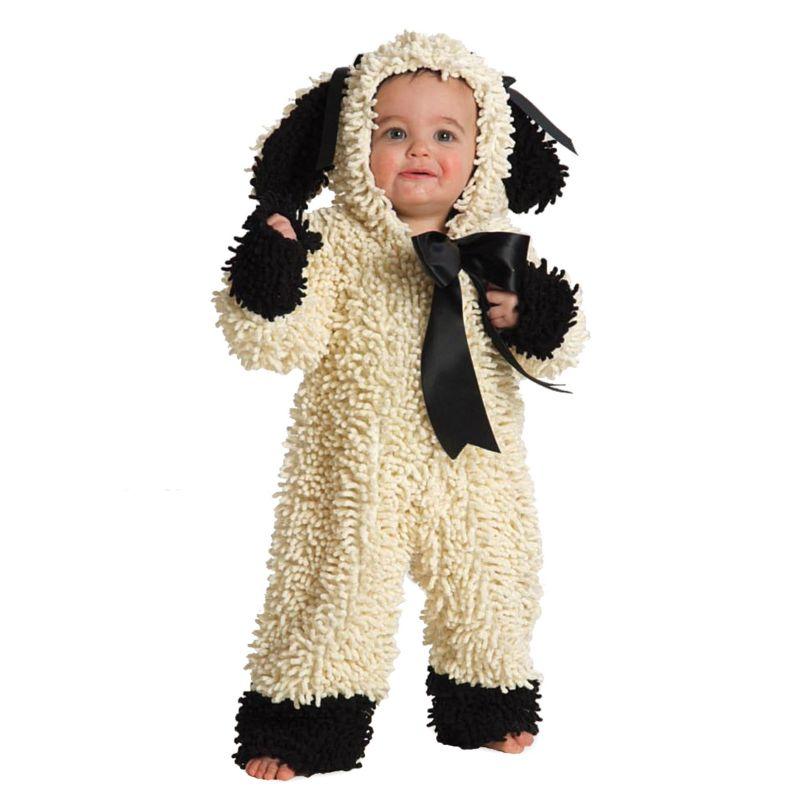 Lamb Costume - Baby (White/Black)