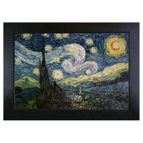 Starry Night Framed Wall Art