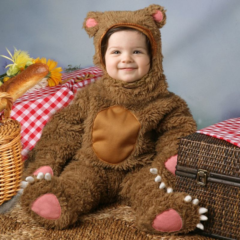Bear Costume - Baby/Toddler (Blue)