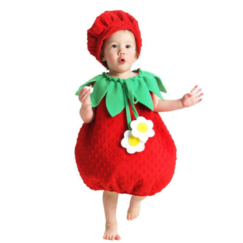 Strawberry Costume - Baby (Red)