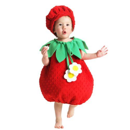 Strawberry Costume - Toddler
