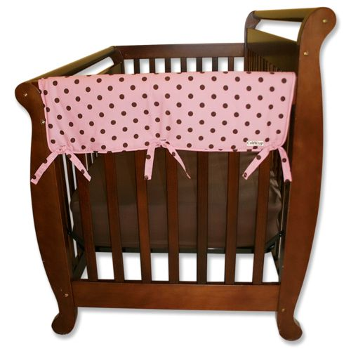 Trend Lab 2-pk. Polka-Dot Convertible Crib Side Rail Covers