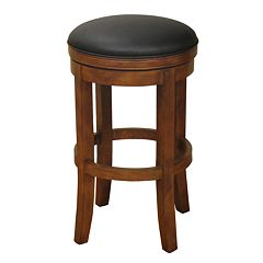 American Heritage Billiards Large Winston Bar Stool by