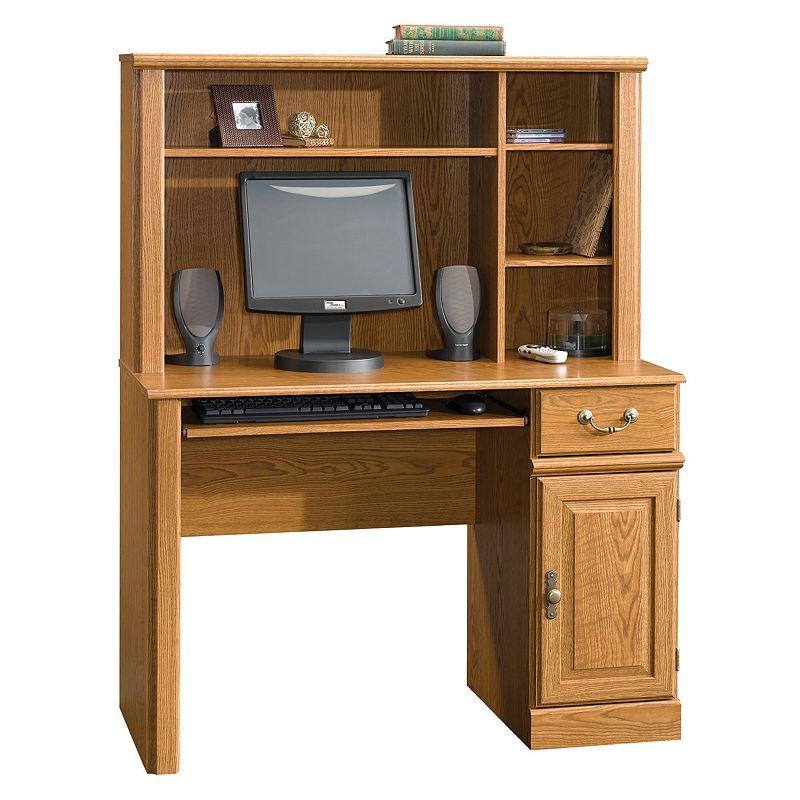 Sauder Orchard Hills Computer Desk and Hutch