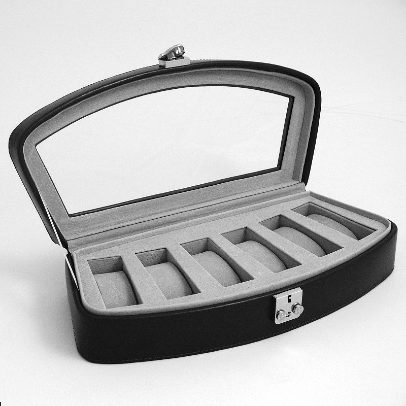 Glass Top Watch Case
