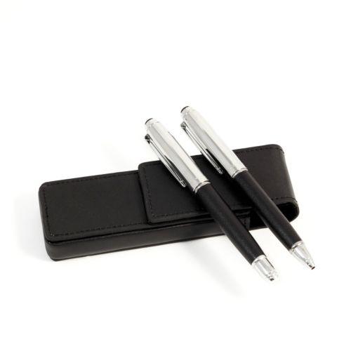 Leather Pen Case Set